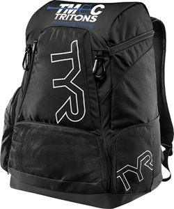 Team Bag – TYR Alliance 45L Backpack in Black with Logo