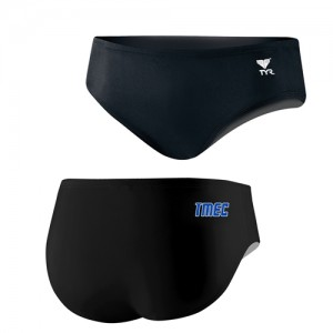 Boys Team Brief – TYR Lycra Black Solid