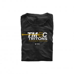 TMEC Women V-Neck Team Shirt in Black