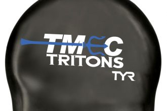 TMEC Tritons Swim Cap. TYR (Latex)