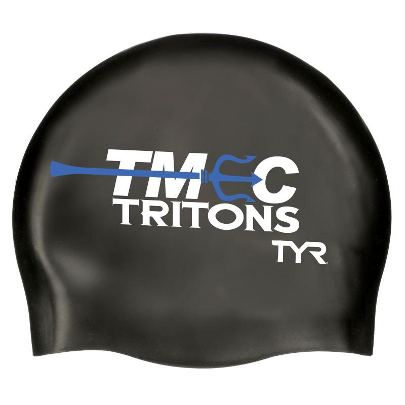 TMEC Tritons Swim Cap. TYR (Silicone)