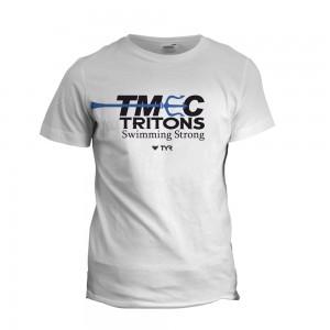 TMEC Men Team Shirt in White
