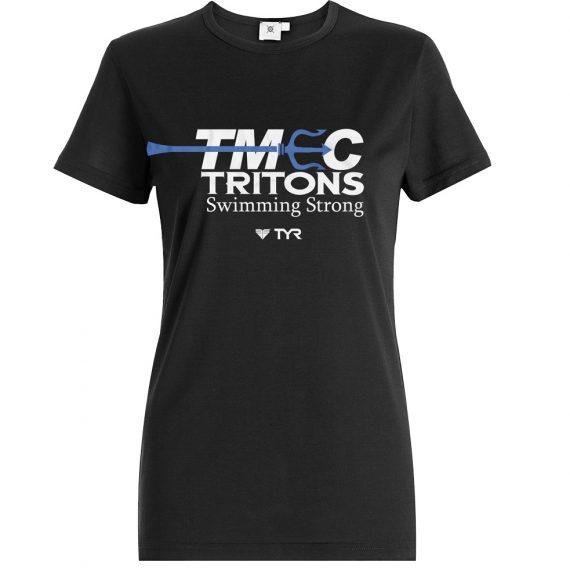 Gildan – TMEC Women V-Neck Team Shirt in Black