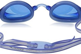 Speedo Jr. Vanquisher 2.0 Swim Goggles, Blue, One Size