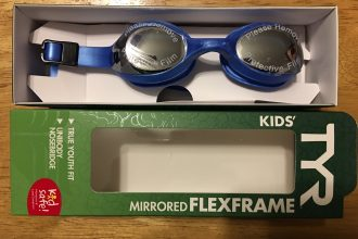 TYR Mirrored Flexframe Goggles (Kids)