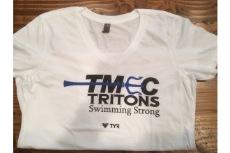 District Made – TMEC Women Team V-neck Shirt in White (Copy)
