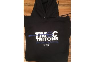 Port and Company – Black pull over hoodie w/ new team logo