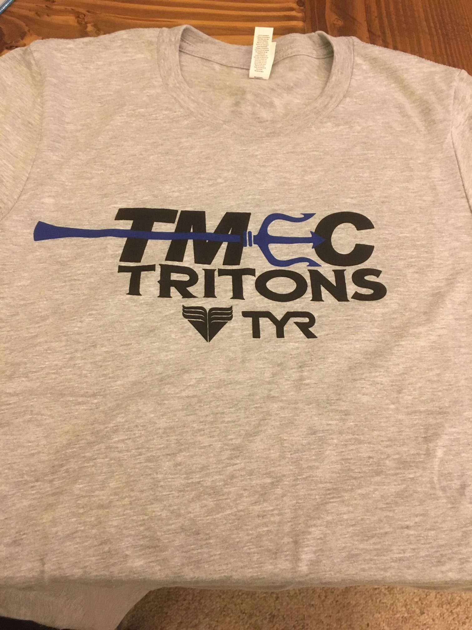 Canvas Men's Cut Grey Short Sleeve T-Shirt