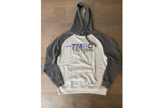 Independent Trading Company Gray & Charcoal Hoodie Sweatshirt