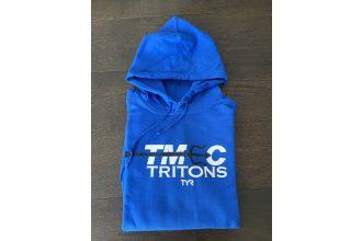 Gildan Blue hoodie sweatshirt