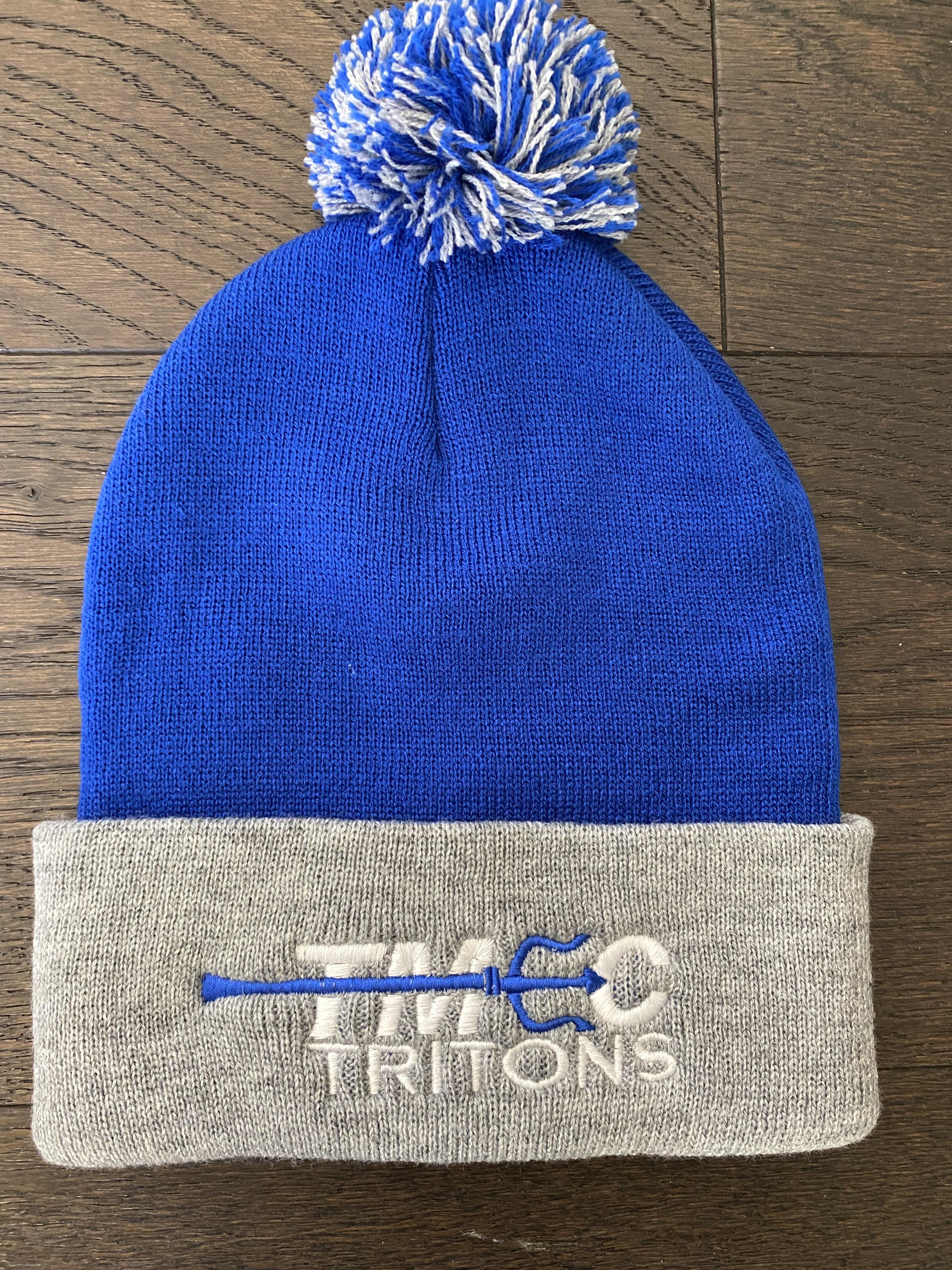 TMEC Blue & Gray beanie