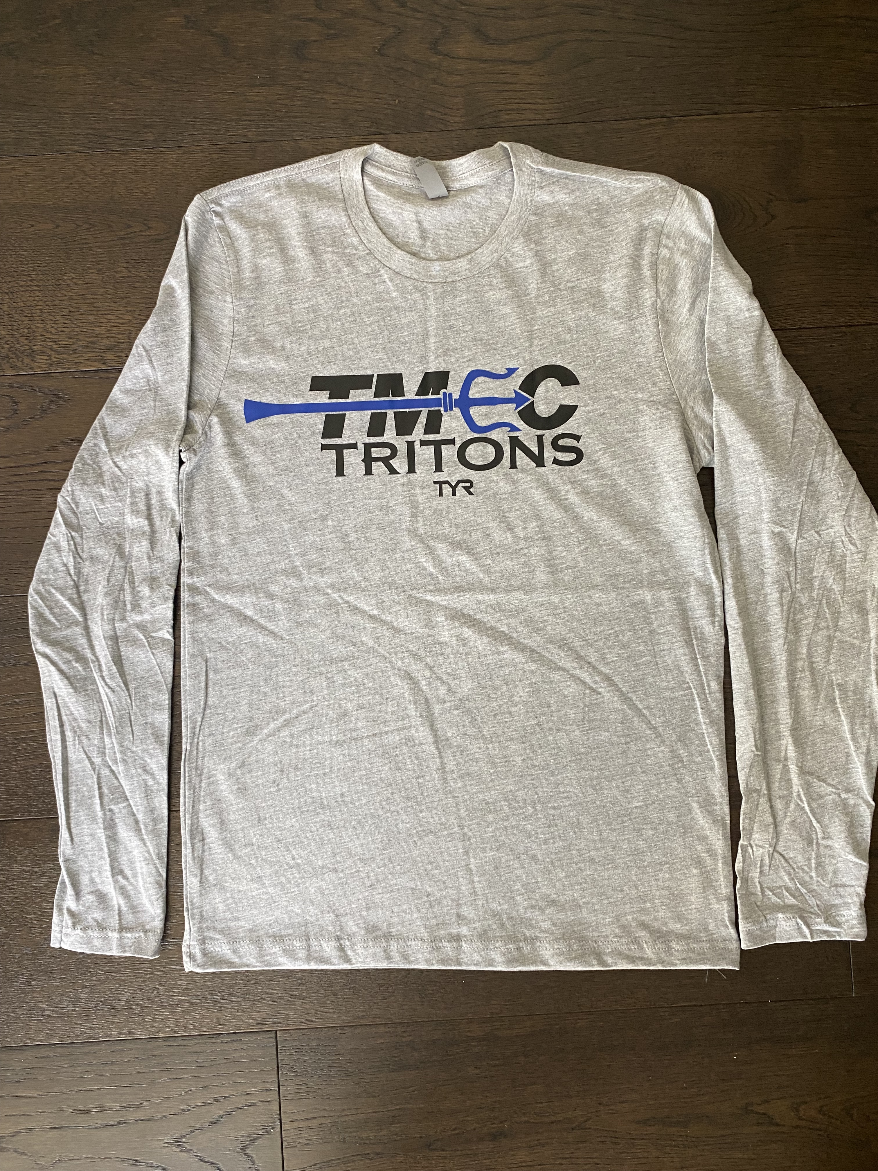 NEXT LEVEL TMEC Long Sleeve Shirt – GRAY